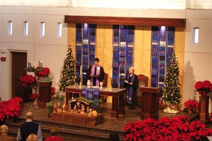 Blue Advent Celebrate! First Presbyterian Church Aiken, SC 2017